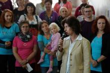 Eröffnungsfeier Frau Pfarrer Wagner-Rauca